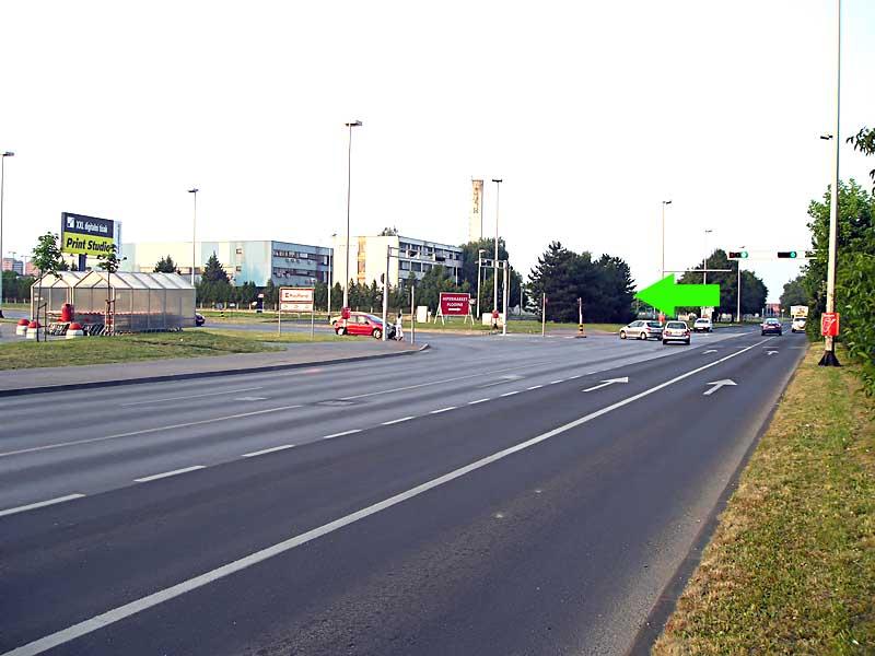 Kreuzung Branimirova - Mandlova