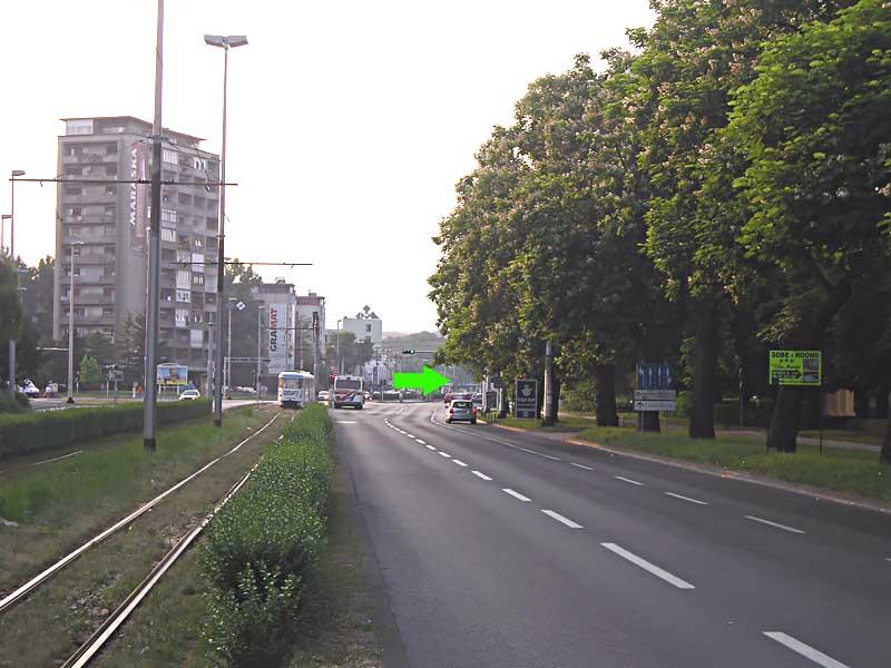 Kreuzung Držićeva - Vukovarska