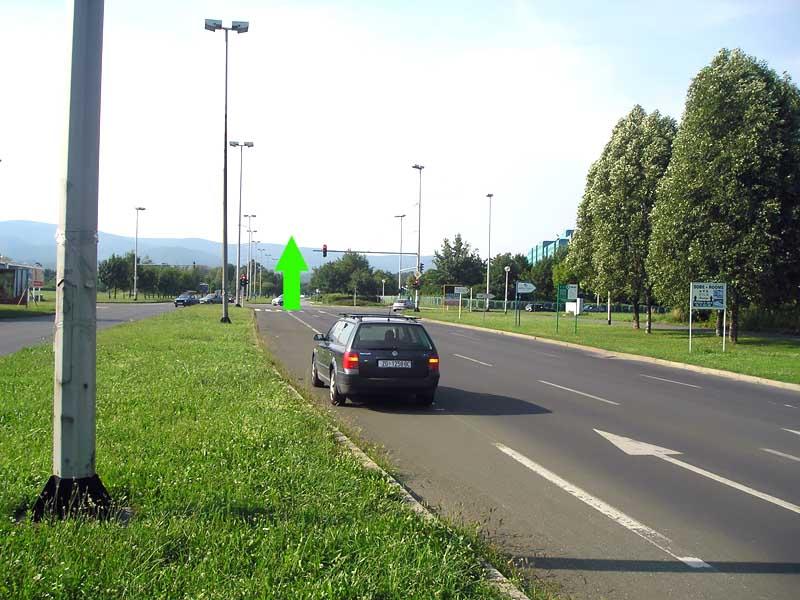 Kreuzung Allee Gojka Šuška - Oporovečka straße